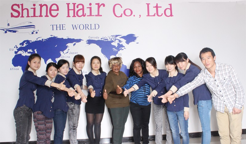 human hair extension company view