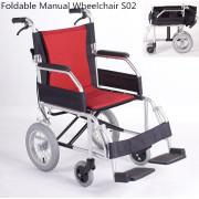 silla de ruedas plegable de aluminio aleación
