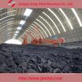 Niedriger Preis Stahl Space Frame Lagerhalle für Kohlekraftwerk