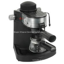 Vapor 4 xícaras de café expresso e Cappuccino máquina