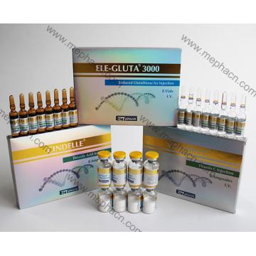 Mejor efecto blanqueador Inyección de Cindelle + Inyección de glutatión 3000mg + Vc Kit