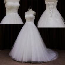 Robe de mariée amicale des arc Simple plage flagrant