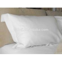 Percale coton blanc taie d'oreiller / slip d'oreiller