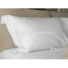 Percale cotton white Pillow tick/pillow slip