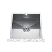 Kommerzielle Beste Verkauf DS-4444 waschbecken caddy edelstahl westlichen badezimmer küche single bowl waschbecken