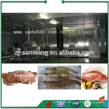 China IQF Spiral Gefrierschrank