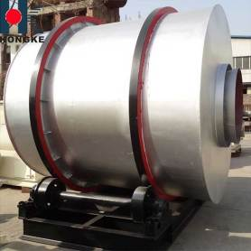 Three Cylinder Rotary Drum Dryer for River Sand