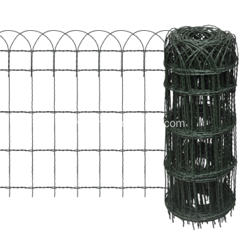 Scroll Top Garden Fence