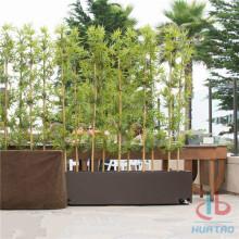 Árbol de bambú artificial para la decoración del jardín