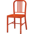 Simple Design Orange Metal Restaurant Chairs for Wholesale (FOH-BCC13)