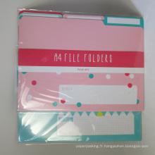 Paquet de dossier papier A4 Paquet de 6