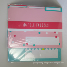 A4 Paper File Folder Pack of 6