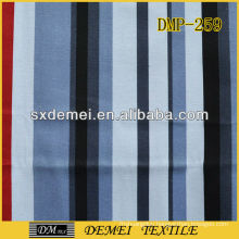 poly cotton printed striped canvas fabric sale