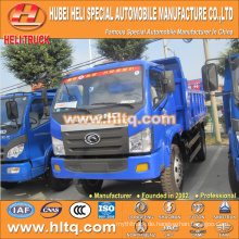 FOTON 4X2 5tons Kipper LKW 102hp heißer Verkauf mit hoher Leistung für Export