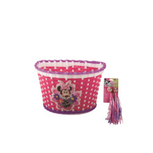 Bicycle Front Basket for Kids Bike Fitted on Handlebar (HBK-173)