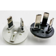 Australia standard power cable 15a plug insert connectors plug flat iron power