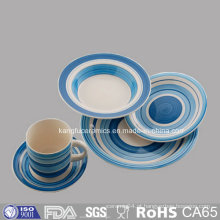 Grupo de café personalizado do jogo de chá do grupo de jantar de Deisgns