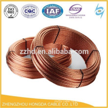 Soft Drawn Bare Copper Stranded Conductor Bare Copper Ground Earth Wire 70sqmm 185sqmm 240sqmm