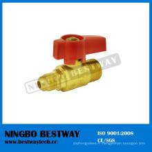 C37700 laiton Anlge LPG Gas Ball Valve (BW-USB07)