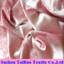 Satin gaufré par polyester avec le timbre chaud pour le drap