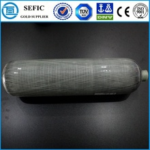 High Pressure Seamless Aluminum Diving Oxygen Tank (CRPIII208-12-30)