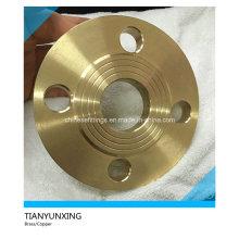 Raised Face Brass / Copper / Copper-Nickel Slip on Flange