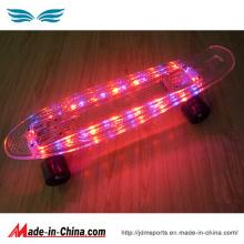 Planche à roulettes de poisson de Penny de LED