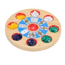 Juguete de madera juego de mesa de madera (CB2160)