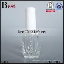 10 ml de botellas de esmalte de uñas blanco; botellas de aceite de perfume de venta caliente en dubai; botella de vidrio superventas en los Emiratos Árabes Unidos