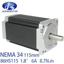 1.8deg 86mm NEMA 34 2phase Hybrid Stepper Motor Jk86HS115-6004