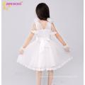 children frocks dress for girl 5 years party wear V-neck snow white dress
