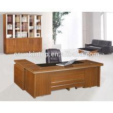 Buen escritorio moderno de la oficina de cristal de la calidad, fábrica profesional de los muebles de oficina en Foshan