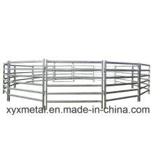 Panel de barrera de caballete galvanizado portátil temporal