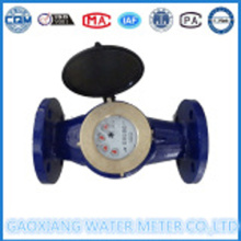 2′′ इंच विस्थापन फलक व्हील प्रकार पानी Flanges कनेक्शन के साथ मीटर