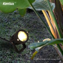 Venta caliente 7W luces led de paisaje con foco