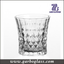 Diamond Design 8oz Engraved Glass Cup (GB041008ZB)
