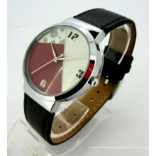 Relógios de pulso feitos sob encomenda dos homens da venda por atacado da discagem do caso da cara do OEM