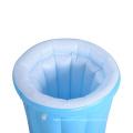 PVC Customized bottle shape Inflatable ice bucket