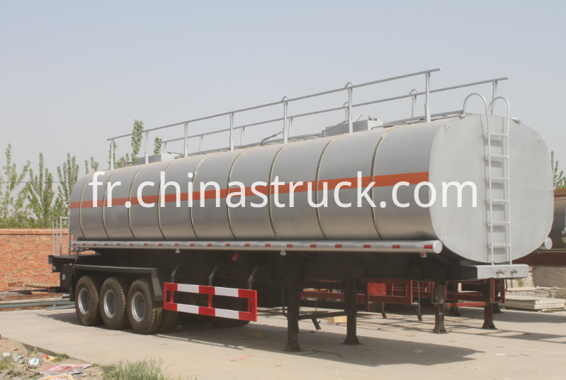 3 axle bitumen pump tank semi-trailer