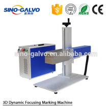 Metal Precision Instruments Fiber Laser Marking Machine With Galvo Marking System