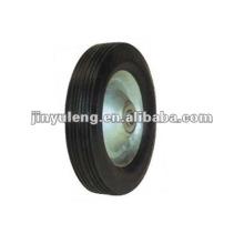 8x1.7solid резиновые колеса