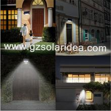 Integrated Solar Wall Light 3.5W With Motion Sensor