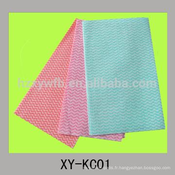 chiffon jetable de cuisine de tissu non-tissé