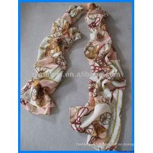 Echarpe en satin imprimé à la mode fabriqué en Chine
