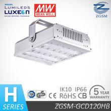 120W Module conçu UL/Dlc cotées LED haute baie Light avec 5 ans de garantie