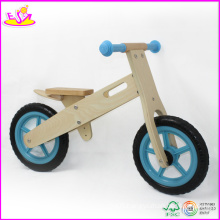 Baby Toy, Blue Children Kid′s Wooden Balance Bike, En 71 and CE Certified