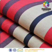 100%cotton canvas fabric dyed