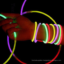 glowing light expandable bracelet