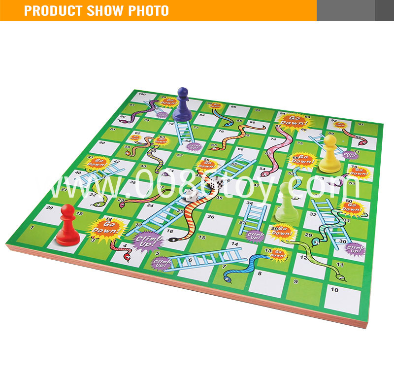 Snake Game Children Chess Game