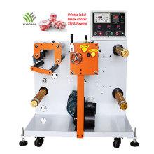 Máquina de corte e rebobinamento de papel de alta velocidade